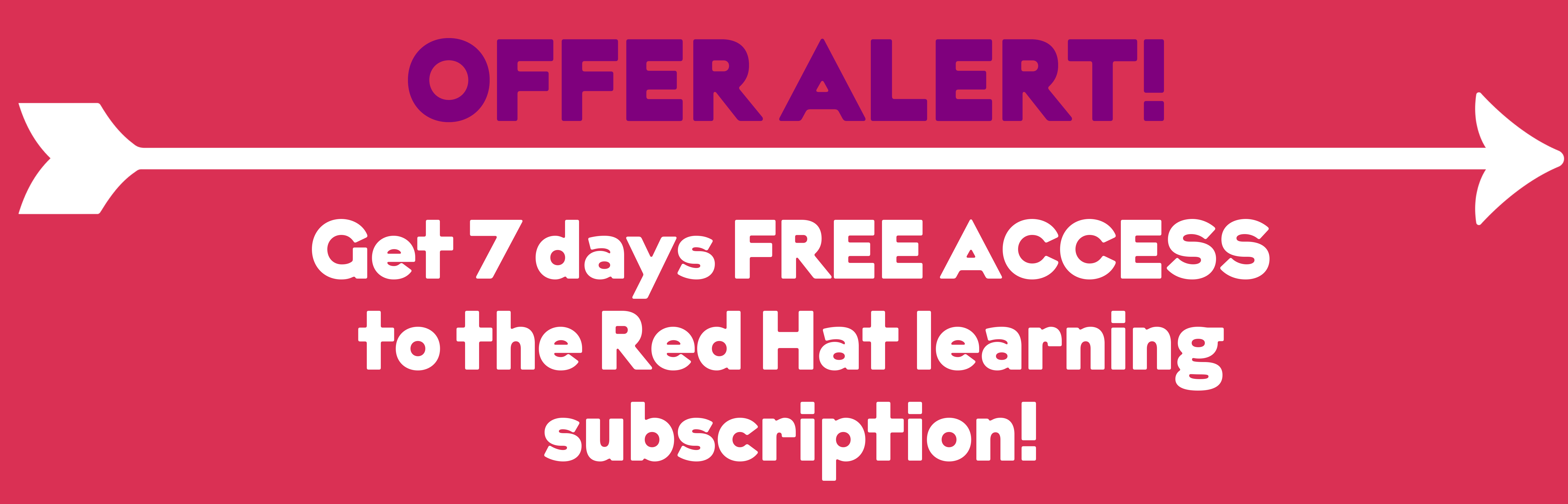 Red Hat Free Trial Offer
