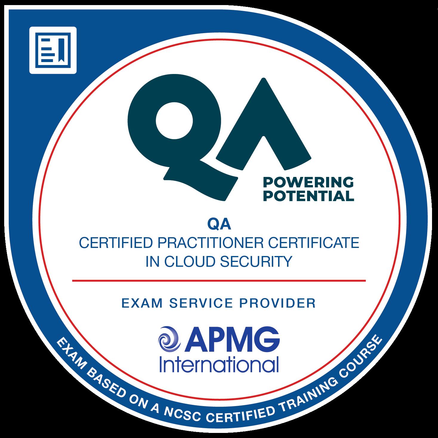 Practitioner Certificate in Cloud Security