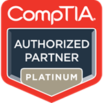 CompTIA Authorized Partner Platinum Logo